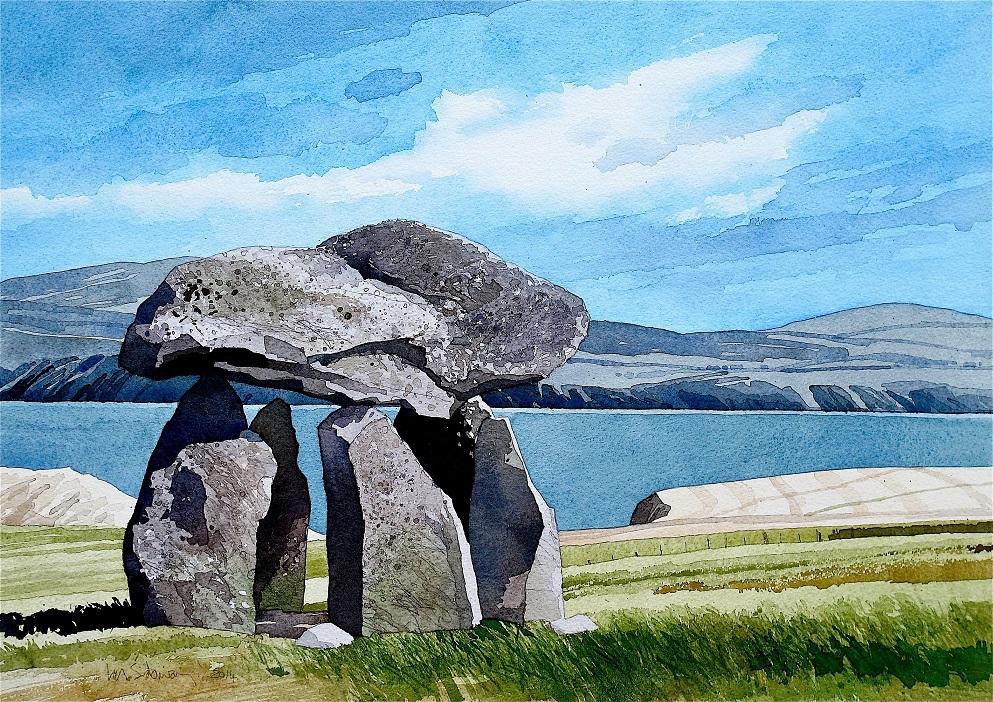 Carreg Samson, Wales. copy