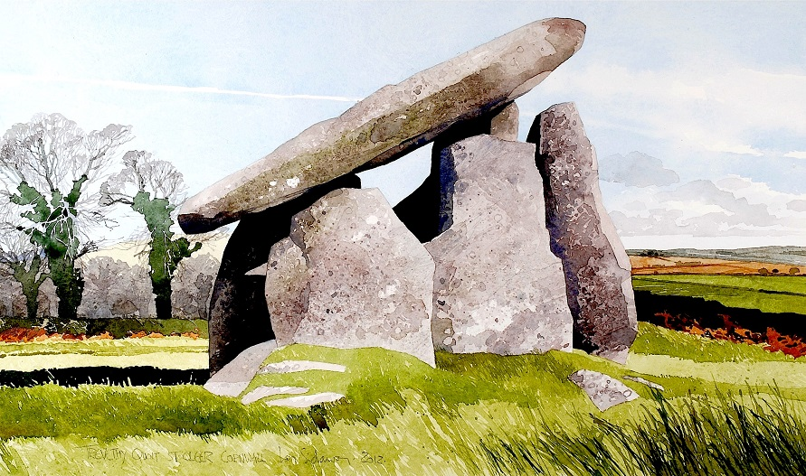 Trevethy Quoit Cornwall copy