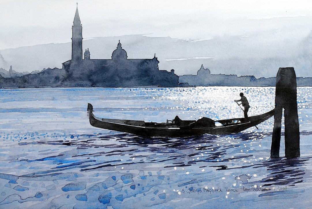 Venice,S Giorgio Maggiore. (S) copy