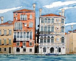 Venice Palazzo Dario. (S) copy