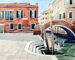 Venice. Ponte Ruga Vechia copy