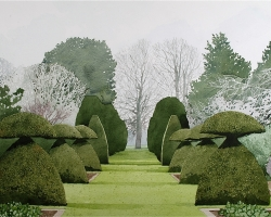 Hinton Ampner Topiary.