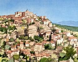 Ian Sidaway Studio Gordes Provence copy