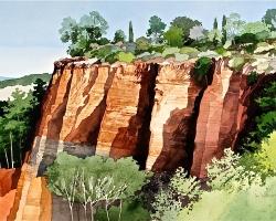 Ian Sidaway Studio Rousillion Provence copy
